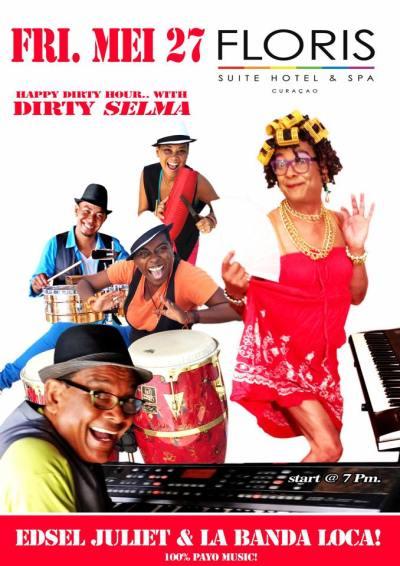 Dirty Selma at Floris Suite Hotel Curacao