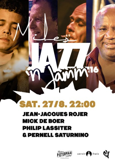 Jazz n Jamm 2016 at Miles Jazz Cafe Curacao