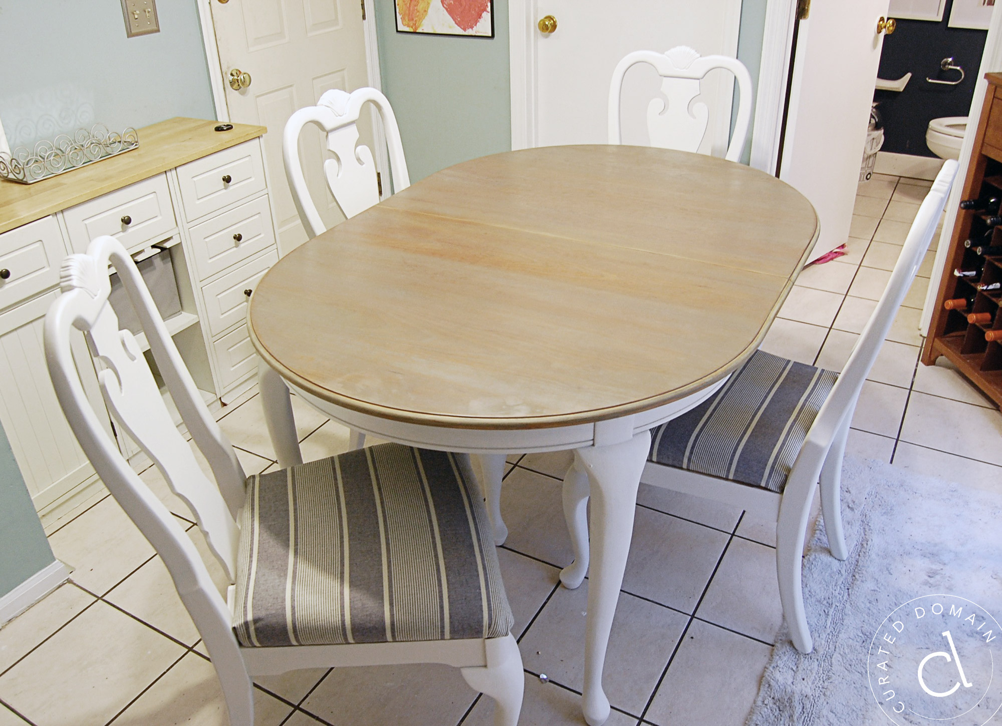 DIY Dining Table Chairs Makeover