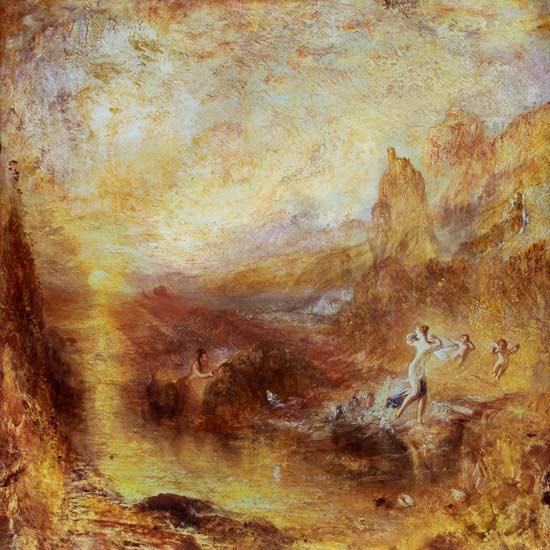 "Glaucus and Scylla from Ovid's ""Metamorphoses"" (William Turner, 1841)"