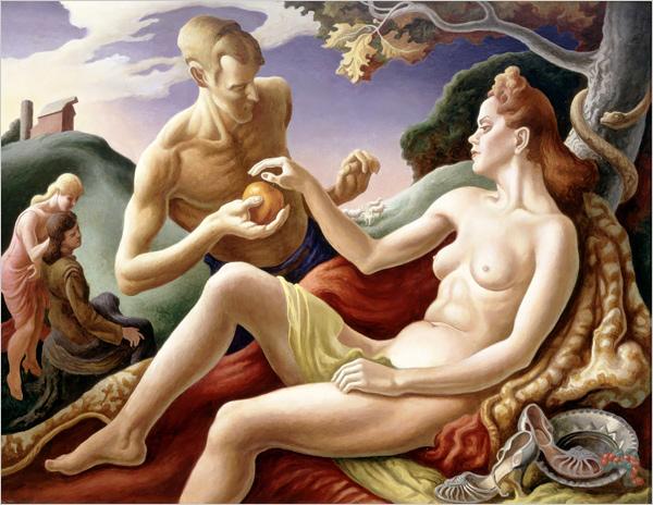 "Thomas Hart Benton's ""Apple of Discord"" (1949)"