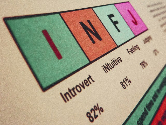 Myers Briggs: I'm an INFJ
