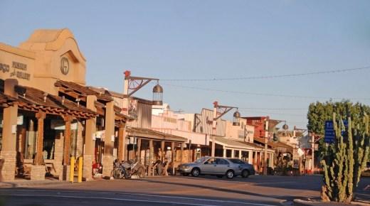 Scottsdale at Dusk: Art District
