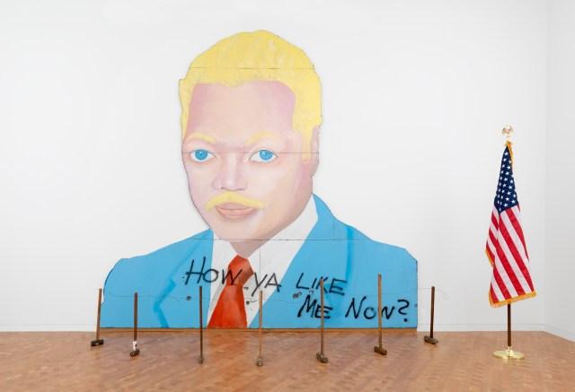 David Hammons, How Ya Like Me Now?, 1989.