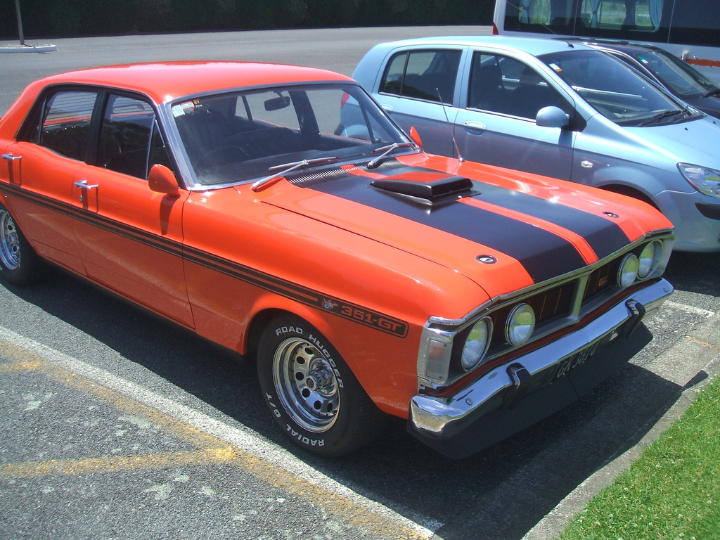 Cohort Classic 1971 Ford Falcon Xy 351 Gt The