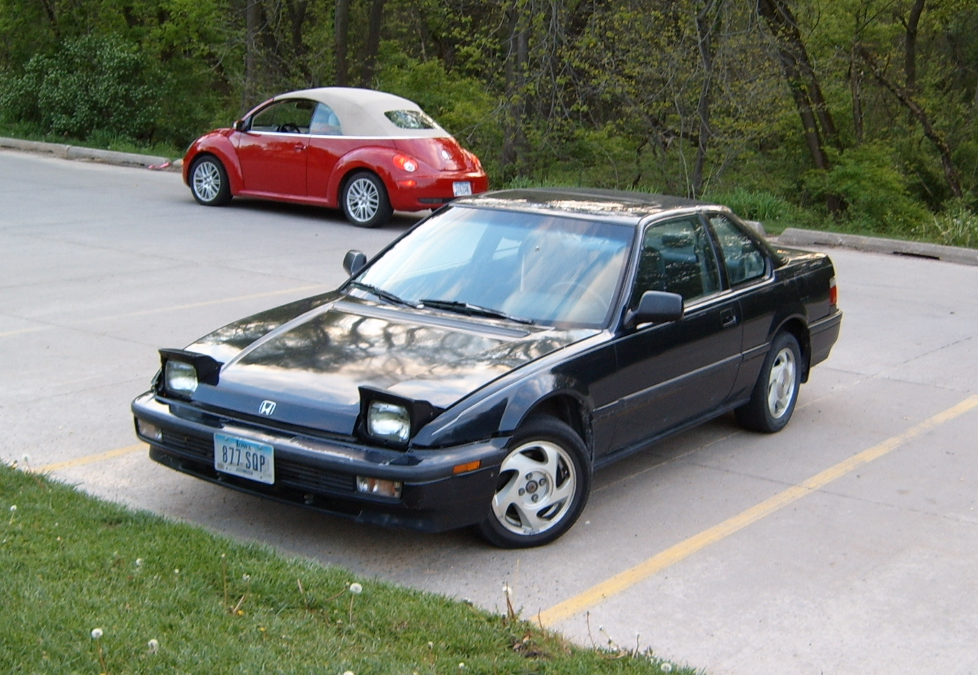 curbside classic 1991 honda prelude si improving the. Black Bedroom Furniture Sets. Home Design Ideas