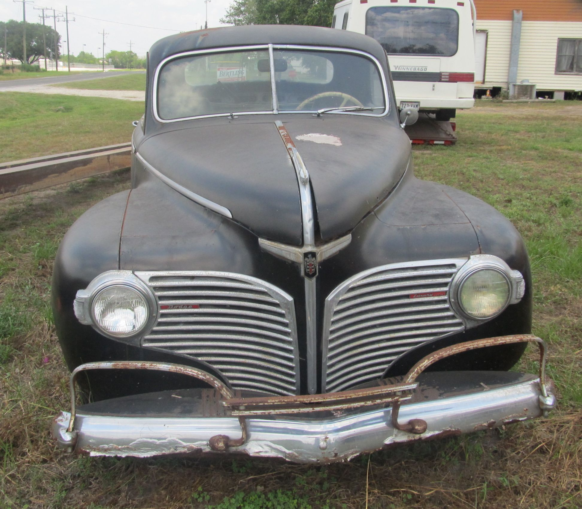 Curbside classic 1941 dodge business coupe dodge gives for 1941 dodge 4 door sedan
