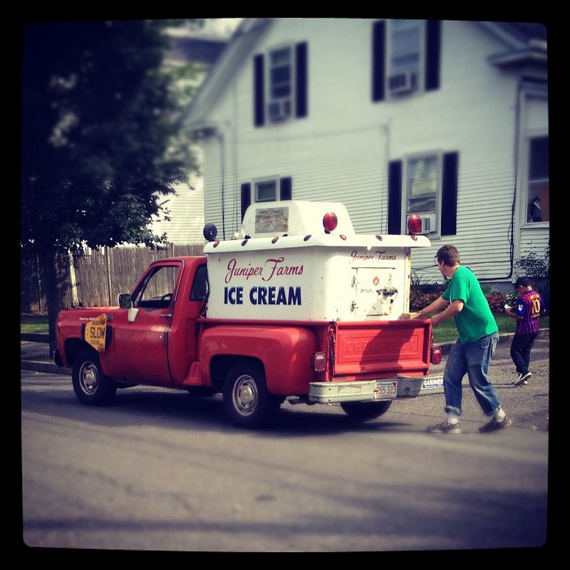 Cohort Outtake Vintage Ice Cream Truck What Prowled Your