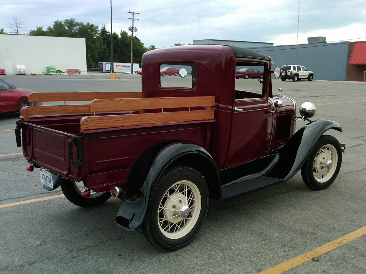 curbside classic 1930 ford model a pickup the modern pickup is born. Black Bedroom Furniture Sets. Home Design Ideas