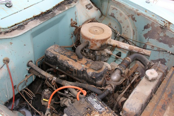 1962 Vauxhall Victor wagon engine