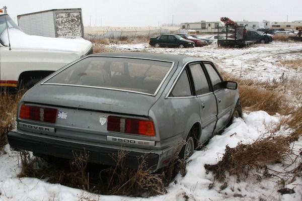 1980 Rover 3500 rear