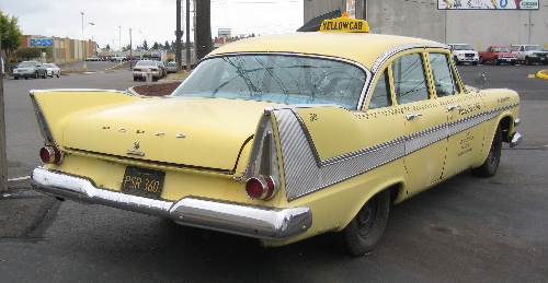 Dodge taxi 1958 r