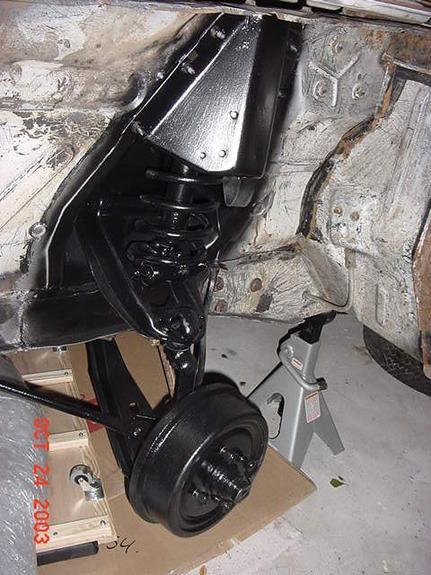 Ford Falcon suspension