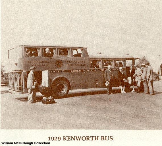 Kenworth bus 1929