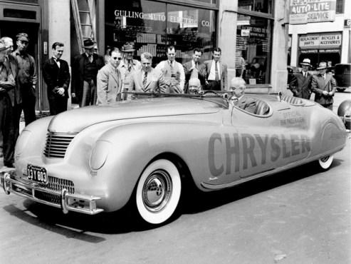 1941 chrysler pace car fototime