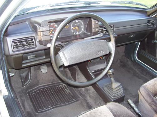 Audi4000Interior