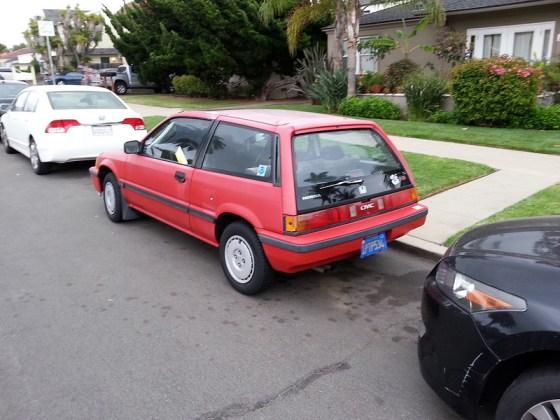 Honda 1986 Civic Si rq