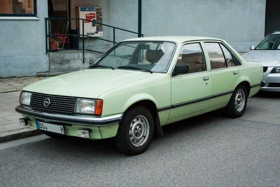Opel Rekord 1978 fq