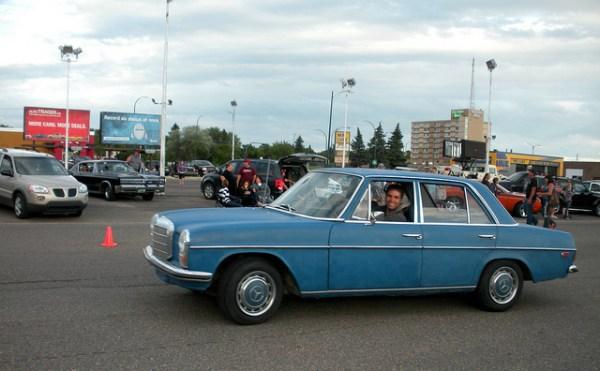 1970 Mercedes Benz 220D
