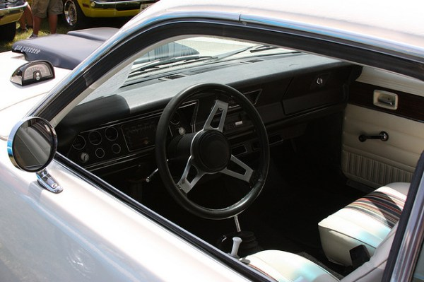 1976 Plymouth Feather Duster interior