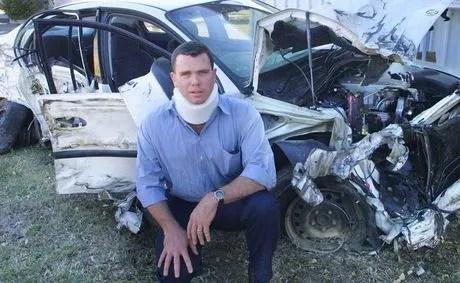 Car crash survivor