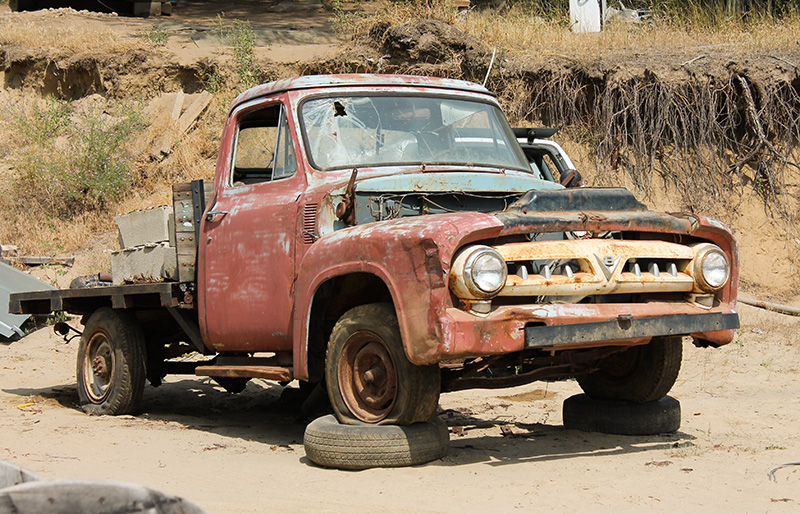 Classic Car Auto Salvage Yards