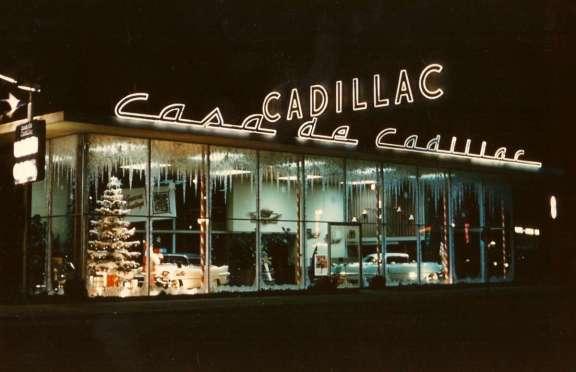 Casa de Cadillac _Christmas 1955