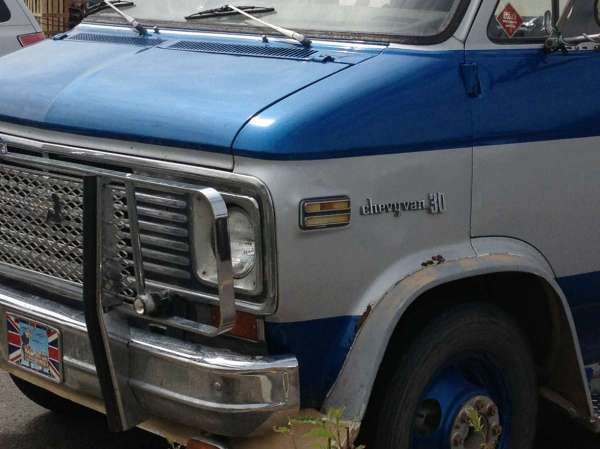 Chevrolet van truck 6