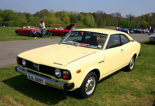 Subaru 1979 coupe