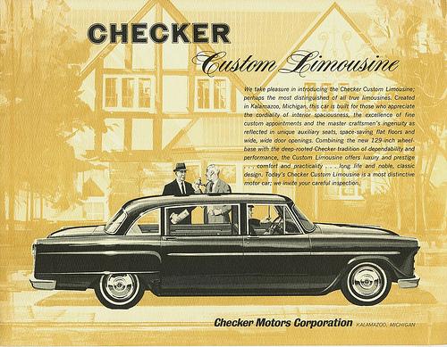 Checker limo