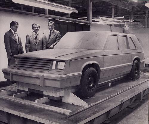 checker Gaslva II prototype 1981