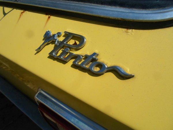 1978 Ford Pinto V6 badge