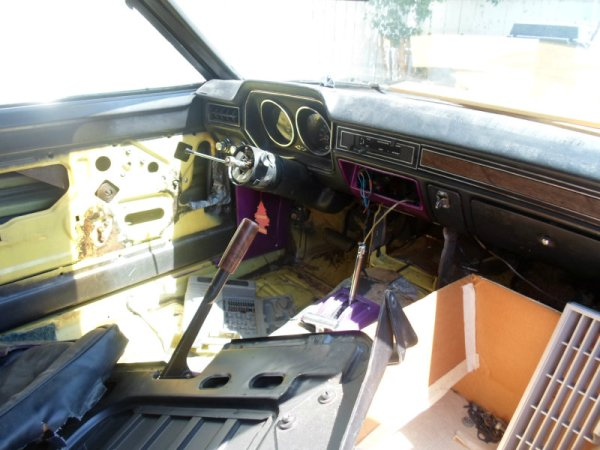 1978 Ford Pinto V6 interior