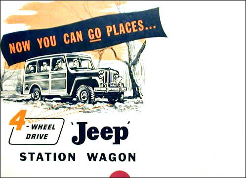 Jeep 1950 wagon 4wd