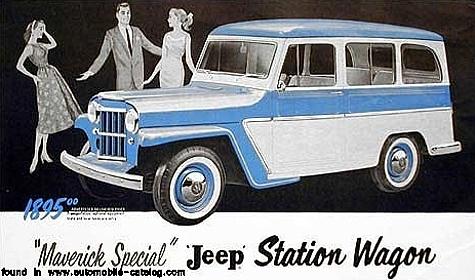 Jeep 1955 Maverick wagon