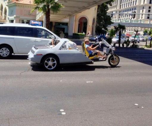Pontiac Fiero trike 6