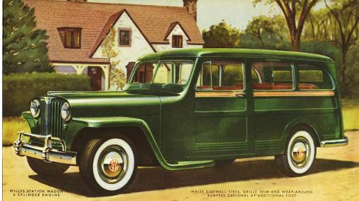 Willys 1949 wagon