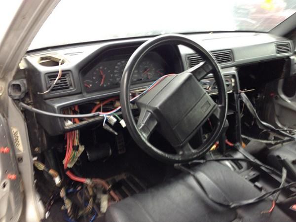 1991 Volvo 940 Turbo interior