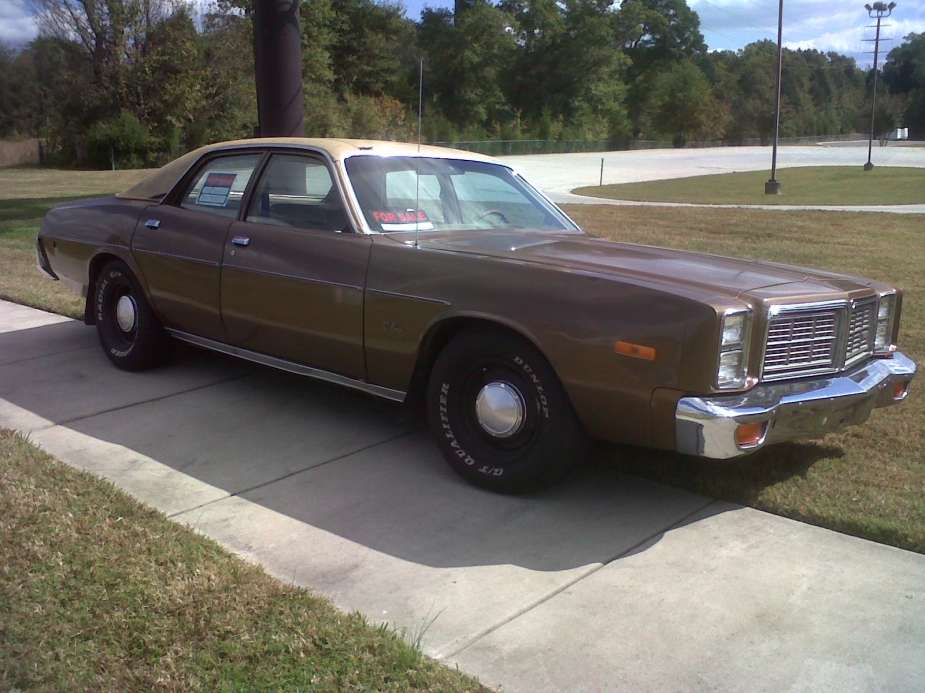 Curbside Classic 1978 Dodge Monaco Dark Days For Dodge
