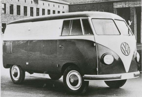 VW bus prototype