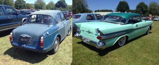 2. 1963 Wolseley 1500 and 1957 Pontiac Starchief