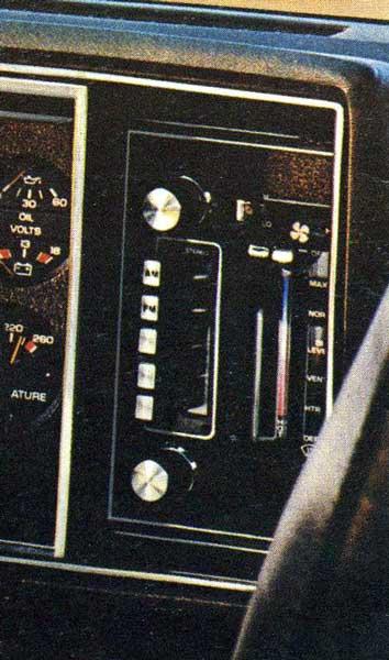 Chevrolet citation radio