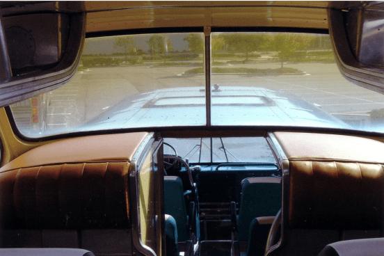 Scenicruiser top window