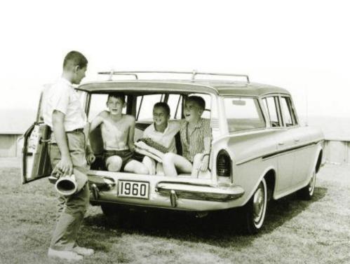 AMC Rambler  wagon thrid seat hemmings
