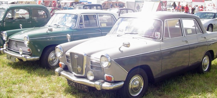 Morris Oxford and Wolseley 16-60