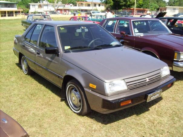 1985_Mitsubishi_Mirage_sedan_by_LPAGAN401