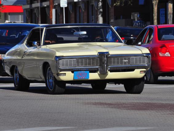 Pontiac GP 1968 f