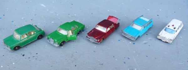 Matchbox family cars