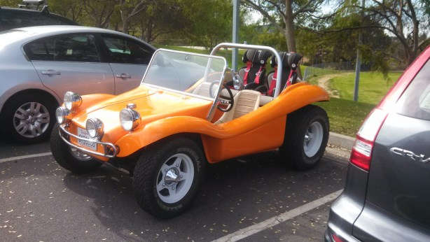 VW buggy orange fq