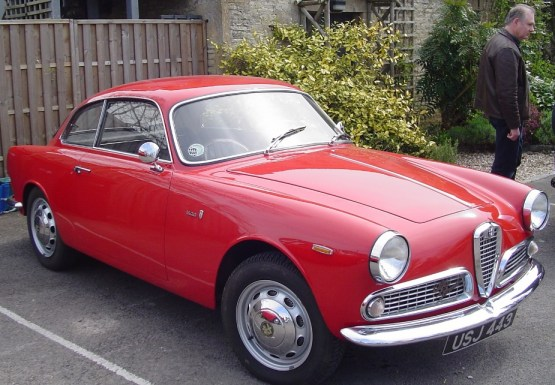 1962 Alfa Romeo Giulietta Sprint.1
